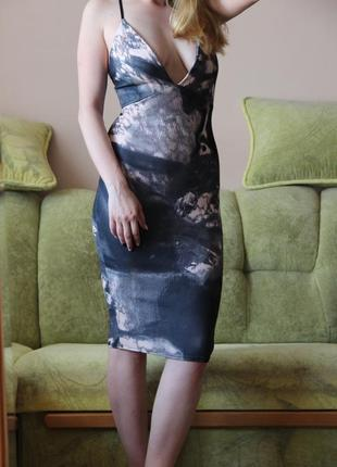 Шикарное платье миди Edge
