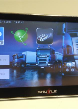 Автомобільний GPS навігатор Shuttle 6001. HD. Повний комплект!