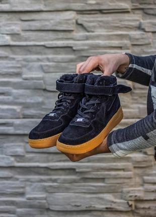 Мужские кроссовки с мехом
