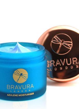 Увлажняющий и успокаивающий крем для лица bravura london azulene