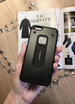 Чехол на iphone 6/6s, противоударный, черный