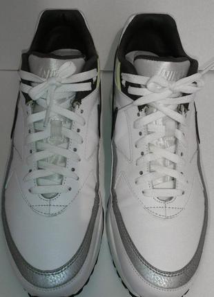 Кроссовки, кеды, оригинал, nike, натуральная кожа, белые кросс...