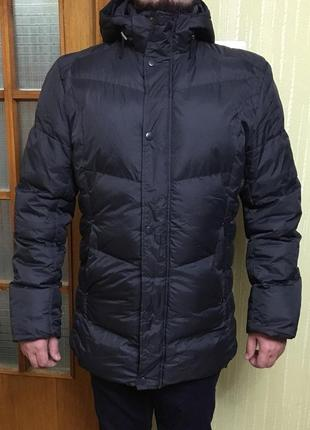 Пуховик, куртка, парка, мужская , зима, теплая, xxl-xxxl