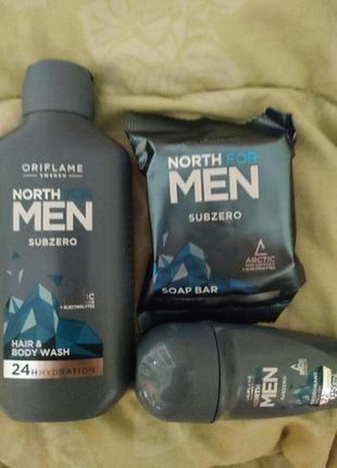 Набор для мужчин north for men subzero