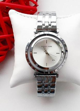 Часы женские, серебристые, стильные, классика