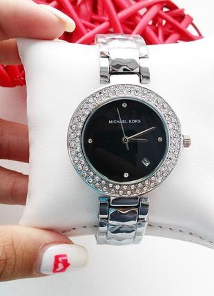 Часы женские, стильные, модные, серебро, красивые часики, акку...