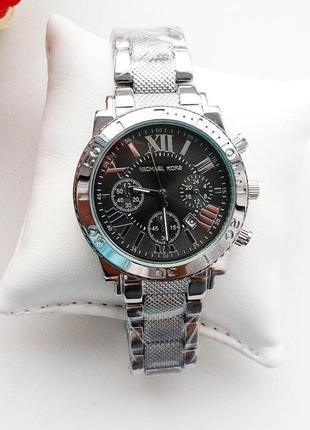 Часы женские, стильные, модные, серебро, красивые часики