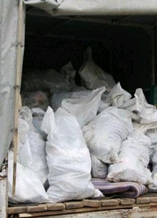 Вывоз строительного и бытового мусора Газель, Камаз