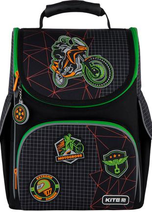 Рюкзак Kite Education каркасный Motocross K21-501S-2