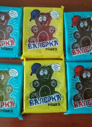 Натуральный мармелад Jabo Мишка Валерка, карамель петушки