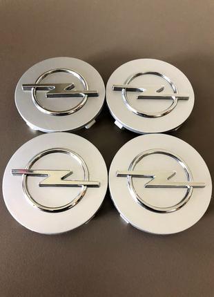 Колпачки заглушки на диски Opel Опель 64mm