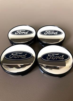 Колпачки Заглушки На Диски Ford Форд 60mm