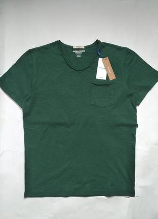 Мужская базовая футболка размер л