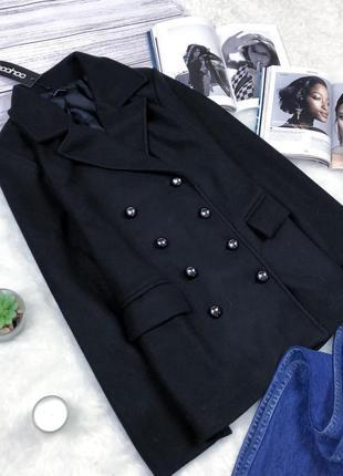 Распродажа!крутое пальто прямого кроя boohoo