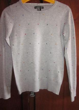 Симпатичный свитер atmosphere размер xs, почти новый