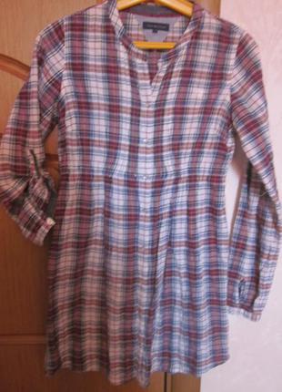Платье-туника tommy hilfiger размер xxs-xs. 2 в 1