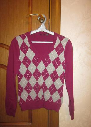 Фирменный свитер mexx размер xs, почти новый