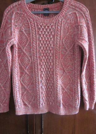Фирменный свитер gap размер xs, почти новый