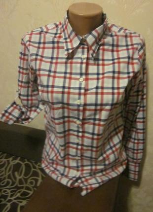 Фирменная рубашка tommy hilfiger размер m 2 в 1 tommy hilfiger