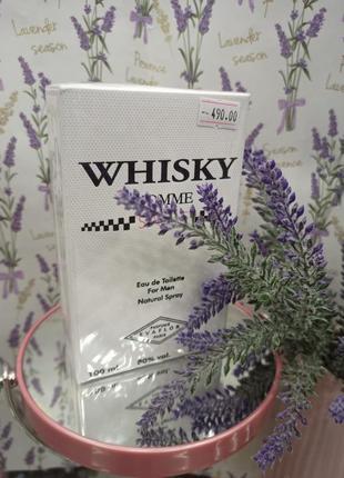 Туалетна вода evaflor whisky sport edt 100 мл