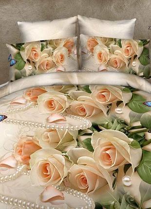 Постільна білизна/постельное бельё: роза бусы