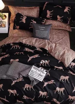 Постільна білизна/постельное бельё: леопарды 🐆