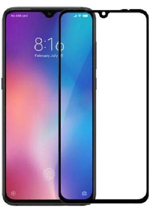 Защитное стекло для Xiaomi Mi 9, Полное клеевое покрытие