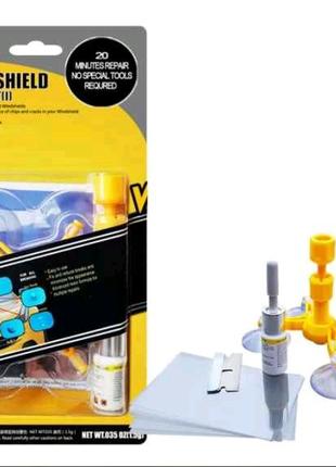Полный набор для ремонта лобового стекла Sunroz Windshield Repair