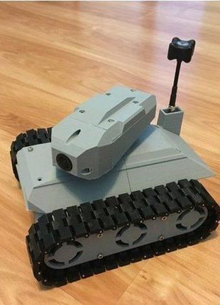 Танковый Ровер с башней. Управление по Wi-Fi
