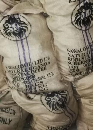 Мешки джутовые из под кофе