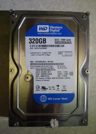 """Жёсткие диски/винчестеры/HDD 320 Gb(Гб) 3.5""""/SATA. Исправны."""