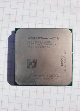 Процесор AMD Phenom II X4 965 Black Edition 3.4 GHz