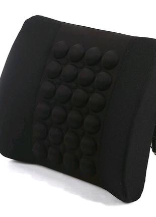 Автомобильная электро-массажная подушка для спины, поясницы, унив