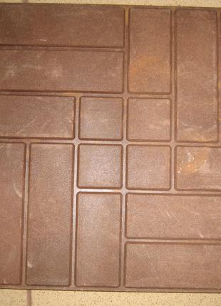 Пресформа для полимер песчанной тратуарной плитки