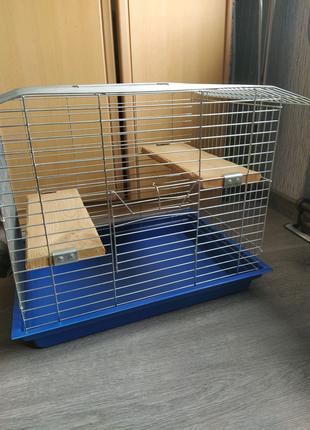 Клетка для шиншиллы, кролика, дегу