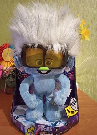 Музыкальная игрушка Trolls (танцующий бриллиант) из США