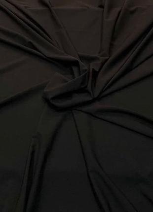 Ткань софт чёрный от 3-х метров