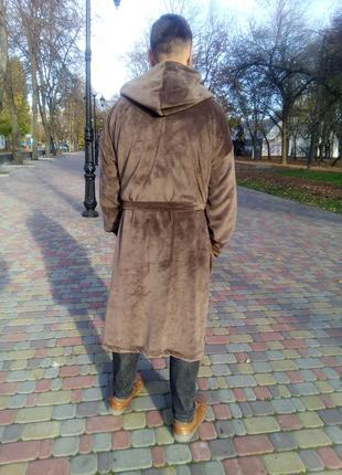 Теплый мужской махровый халат все размеры дешево недорого