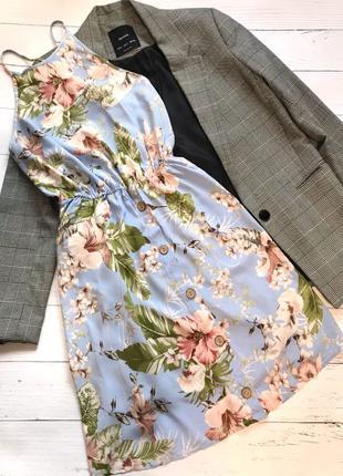 лёгкое платье сарафан летнее