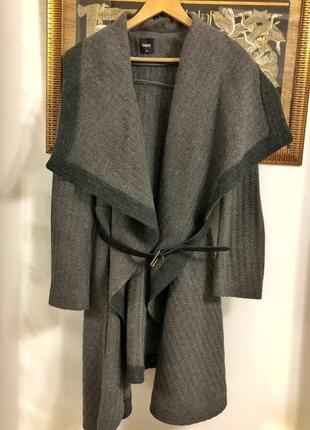 Пальто из англии брэнд oasis размер м натуральная шерсть 40%