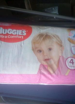 подгузники от 2 до 4 большие пачки