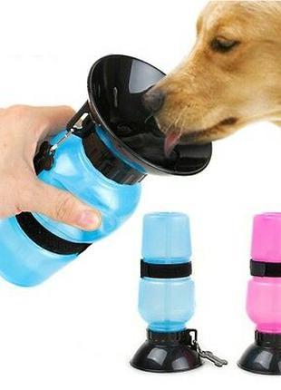 Поилка для собак Aqua Dog (Аква Дог) Походная бутылка изготовлена