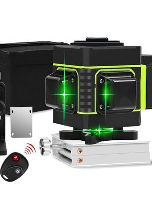 Hilda 12 Линий NEW Зелёный Лазерный Уровень • 3D 360° • Нивелир