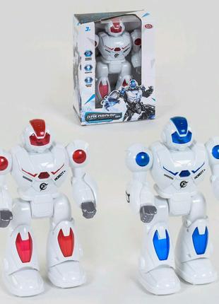 "Робот ""Play Smart"", ходит, подсветка, звук,"