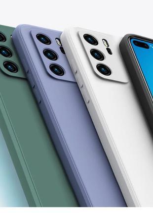 Чехол силиконовый мягкий для Huawei P20
