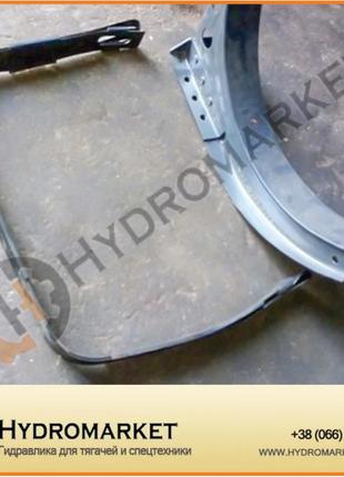 Кронштейн к топливному баку DAF 600л (620х675х1600)