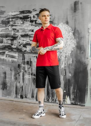 Комплект мужской футболка + шорты