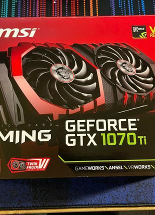 MSI GeForce GTX 1070 TI - 8 ГБ графическая карта