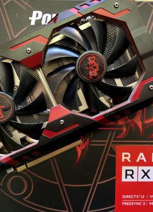 Видеокарта PowerColor AMD RX 580 8gb Red Devil