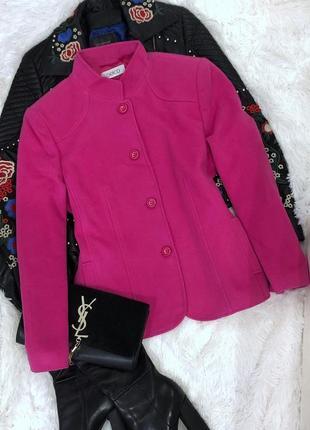 Пальто gelco натуральная шерсть размер l